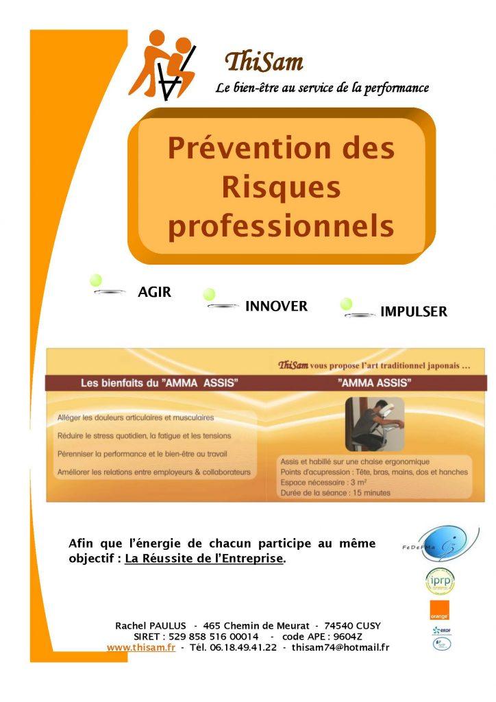 Prévention des Risques professionnels | Thisam